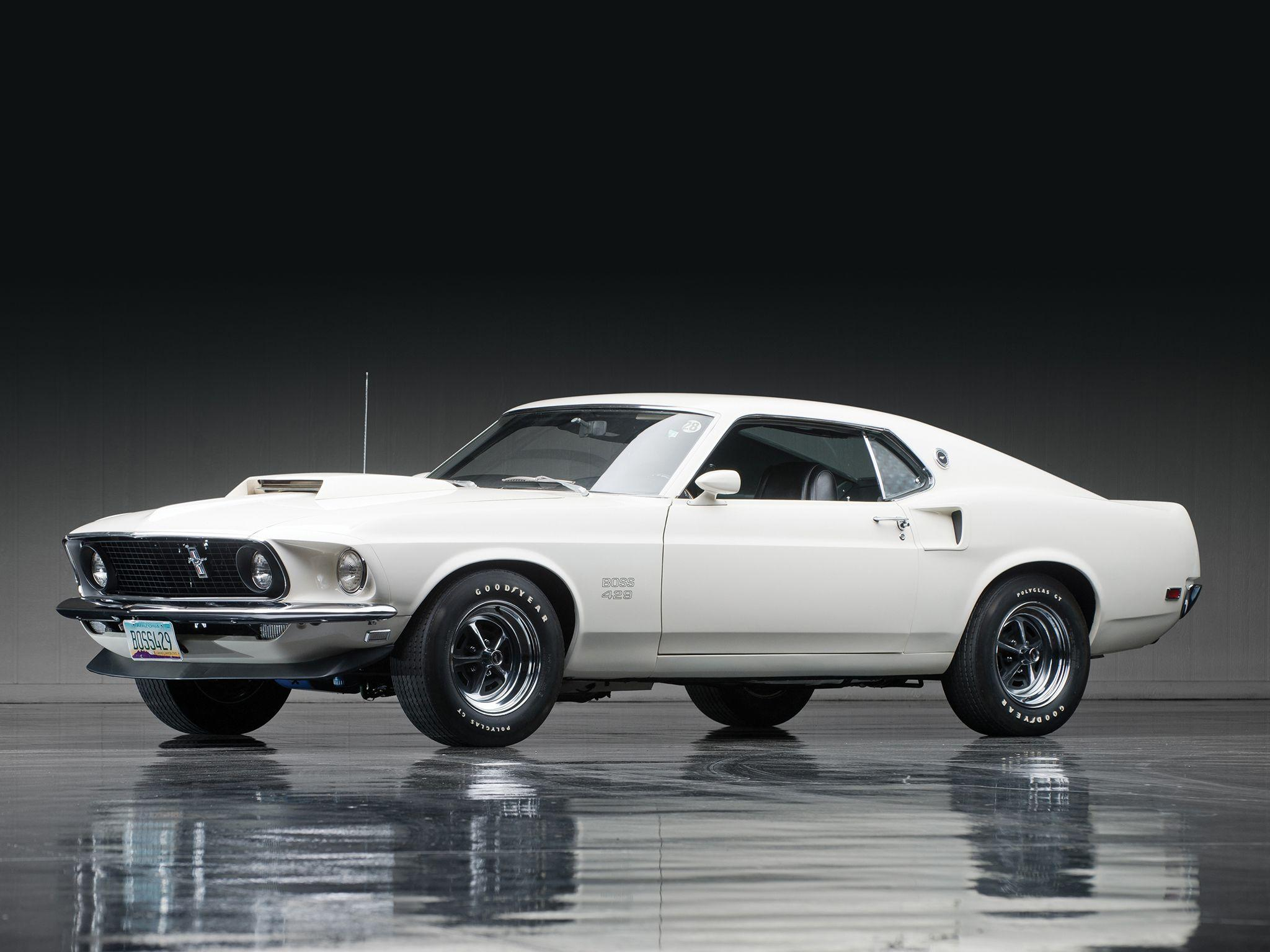 Vehicles 1969 Ford Mustang Boss wallpapers