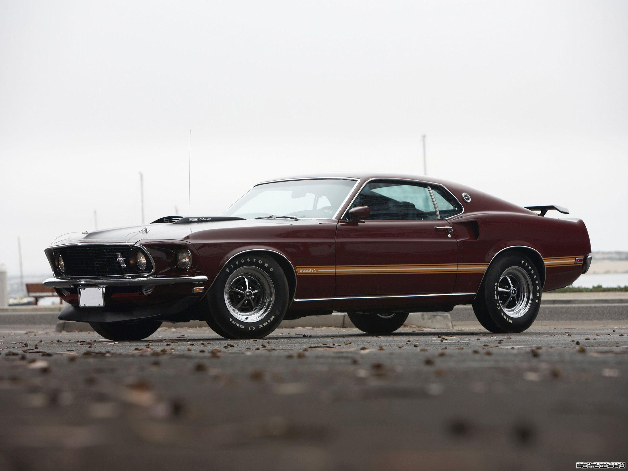 Ford Mustang MACH 1 1969 » Cars » OldtimeWallpapers