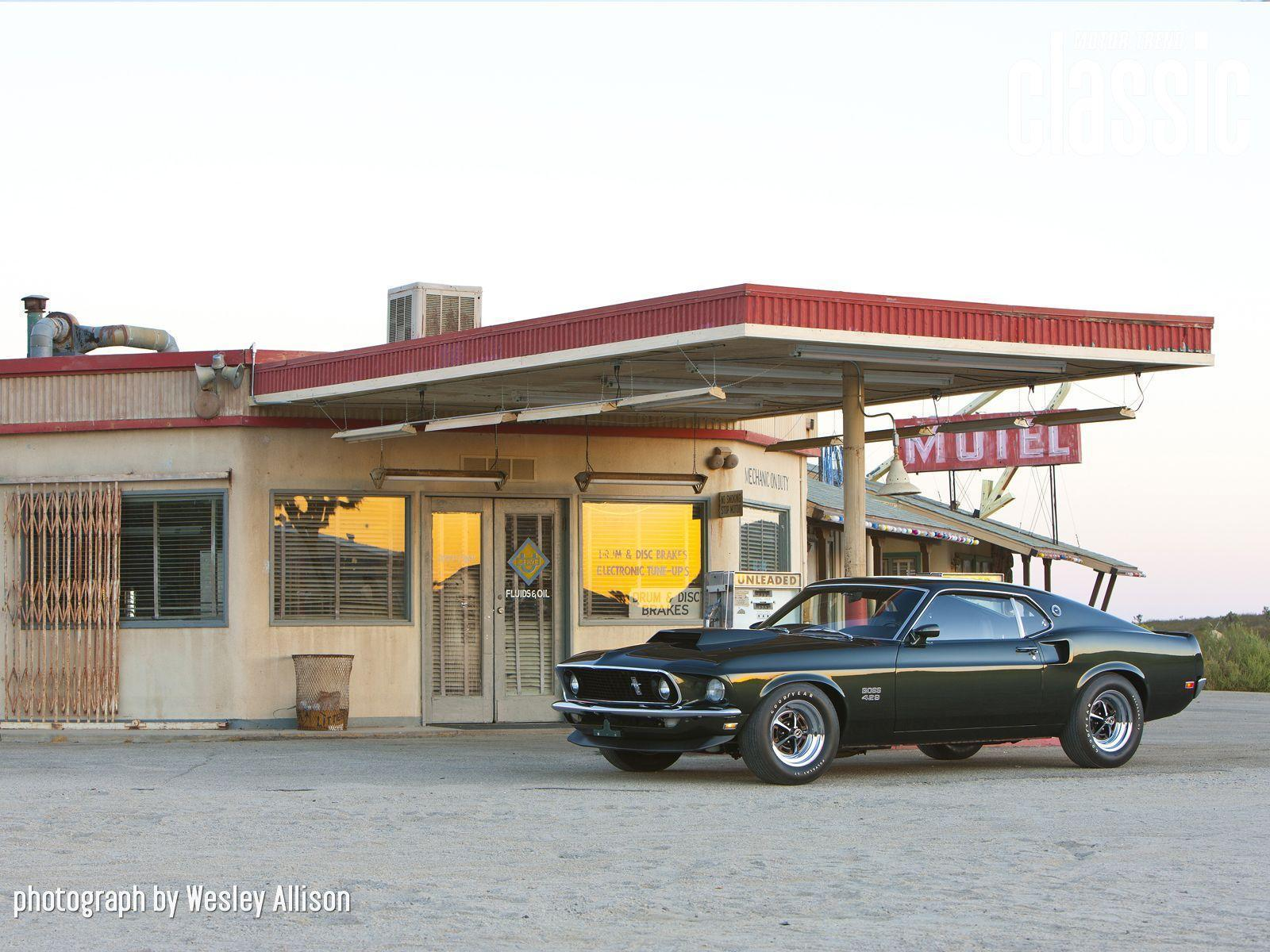 1969 Ford Mustang Boss 429 Wallpapers Gallery