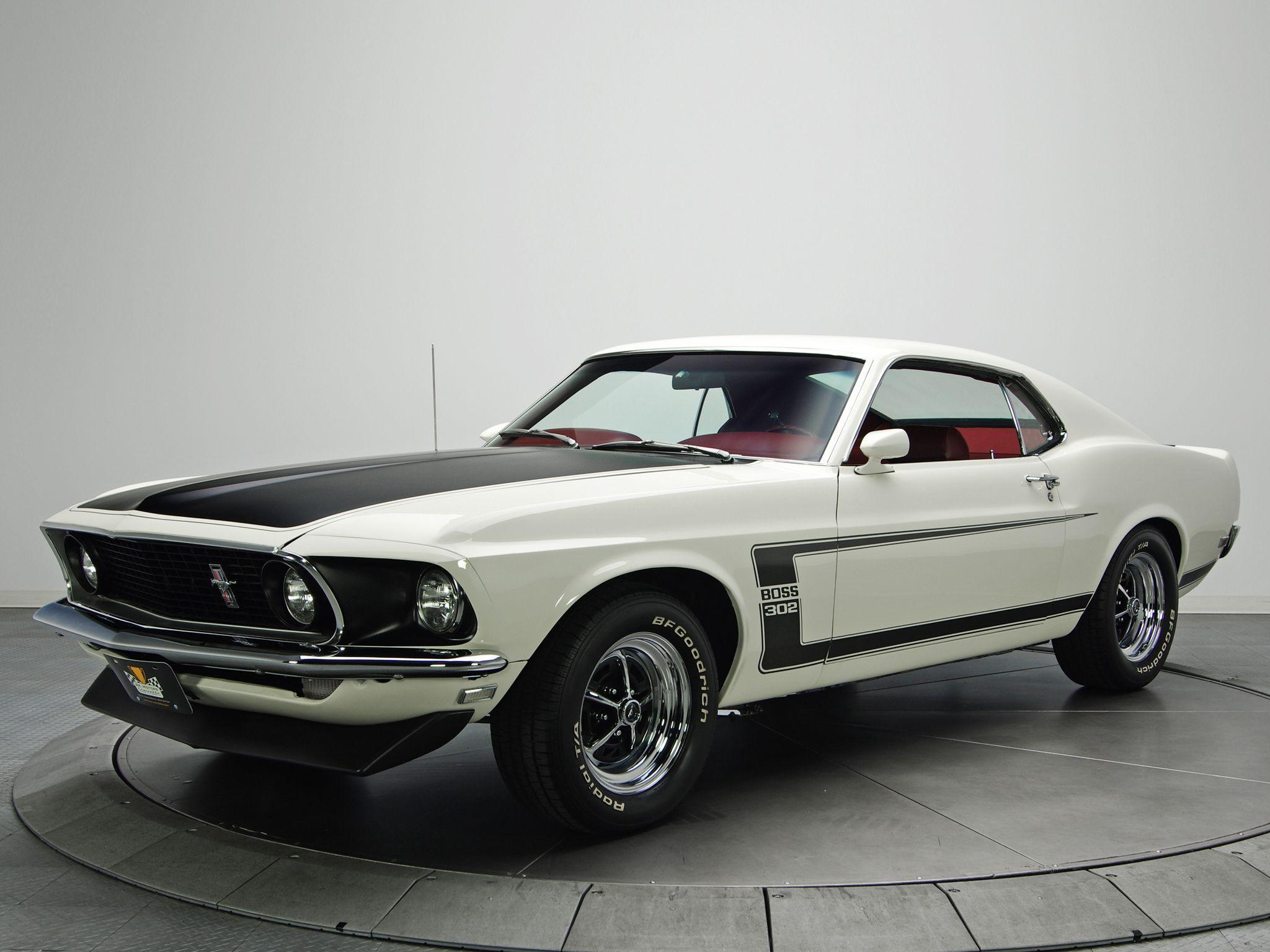 1969 Ford Mustang Boss 302 muscle classic fg wallpapers