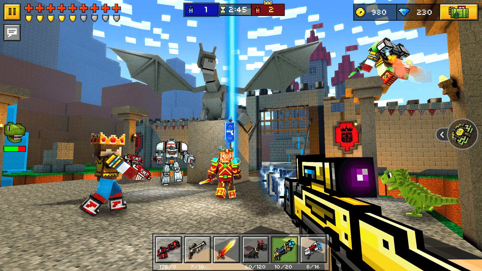 Play pixel gun 3d without download