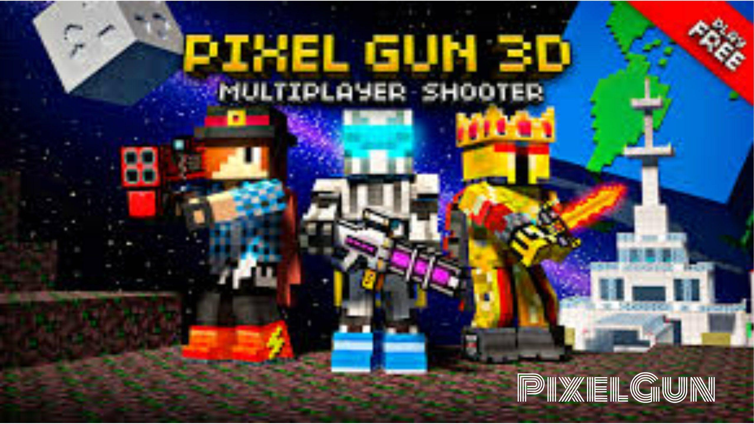 Pixel Gun 3D Wallpapers - Wallpaper Cave