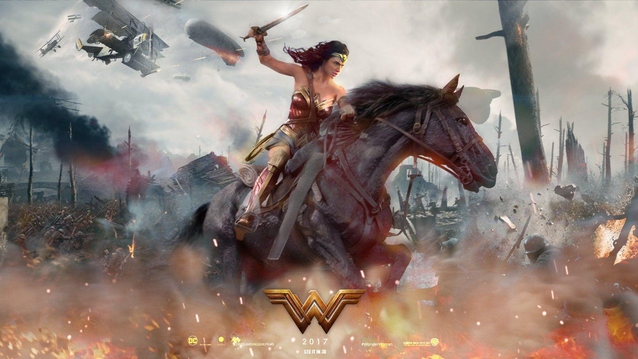Wonder Woman Hq Movie Wallpapers: Wonder Woman 2017 Wallpapers