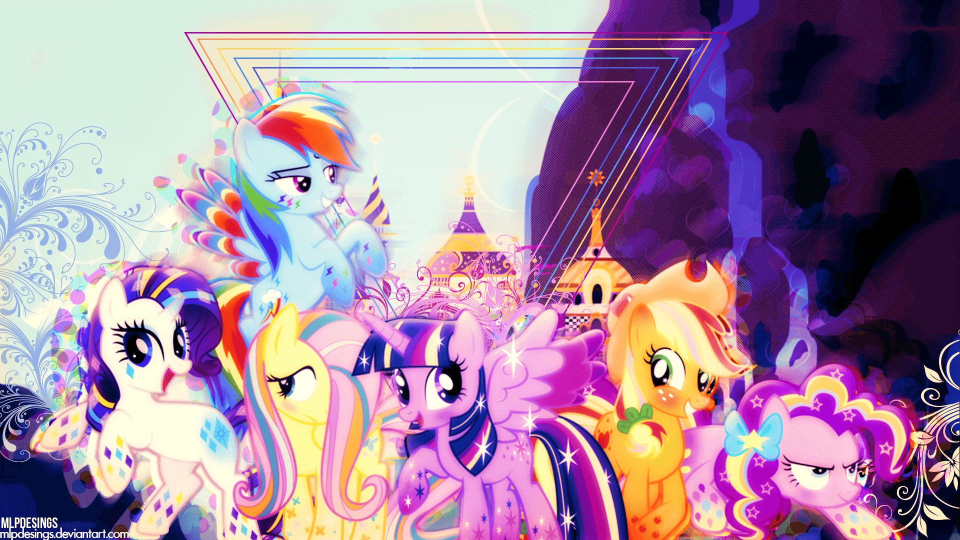 My Little Pony Fluttershy Wallpapers - Wallpaper Cave