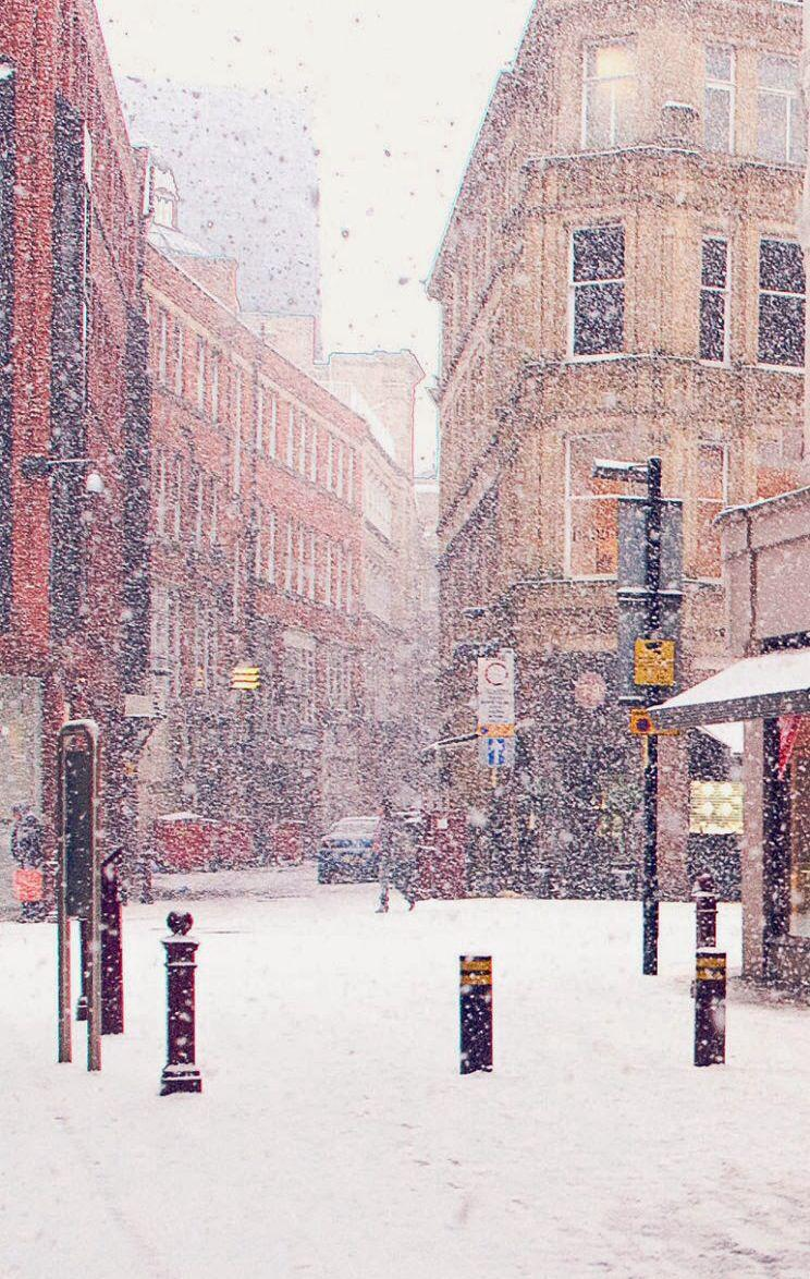 Snow In City Wallpapers  Wallpaper Cave