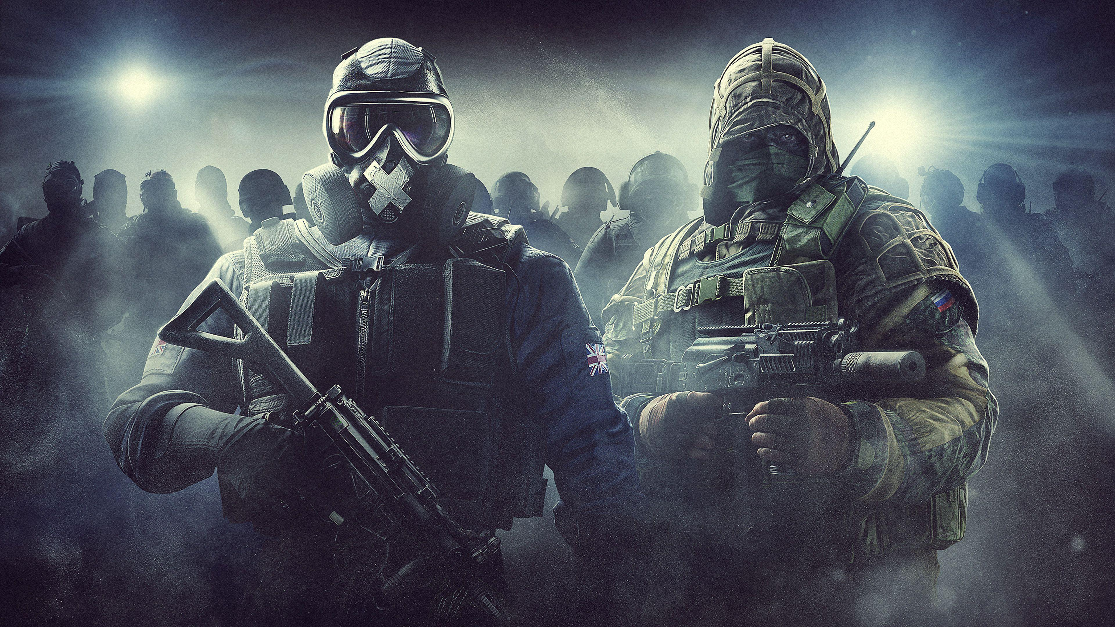 Tom Clancys Rainbow Six Siege Hd Wallpapers Wallpaper Cave