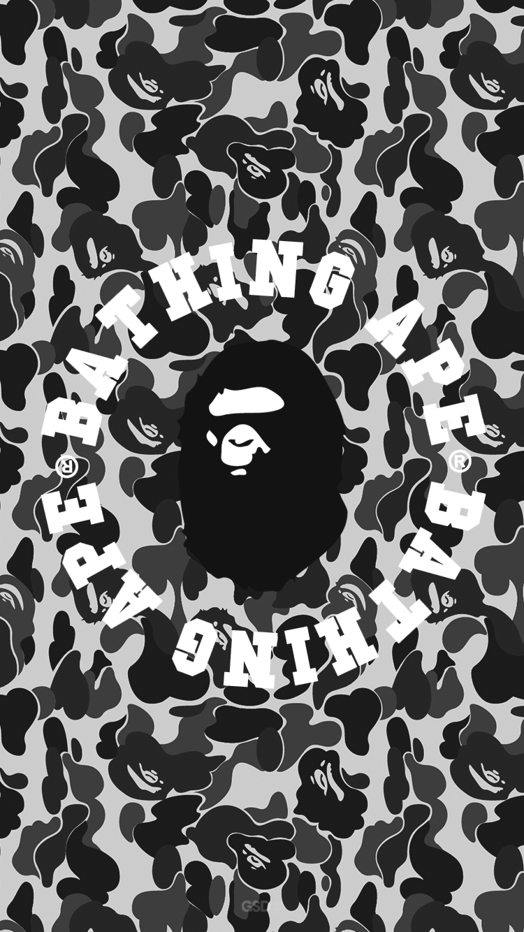 bape iphone wallpaper a bathing ape wallpapers wallpaper cave 10223
