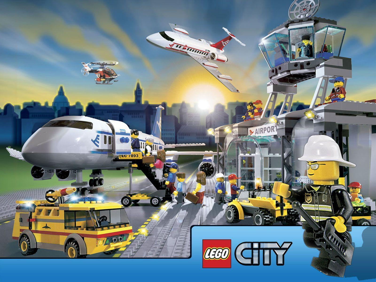 Lego City Wallpapers Collection (27+)