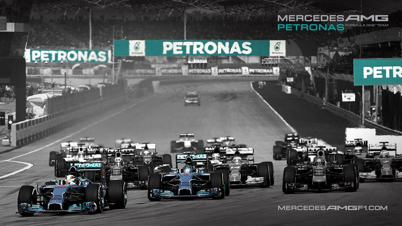 Mercedes AMG Petronas Formula 1 wallpapers for your desktop or