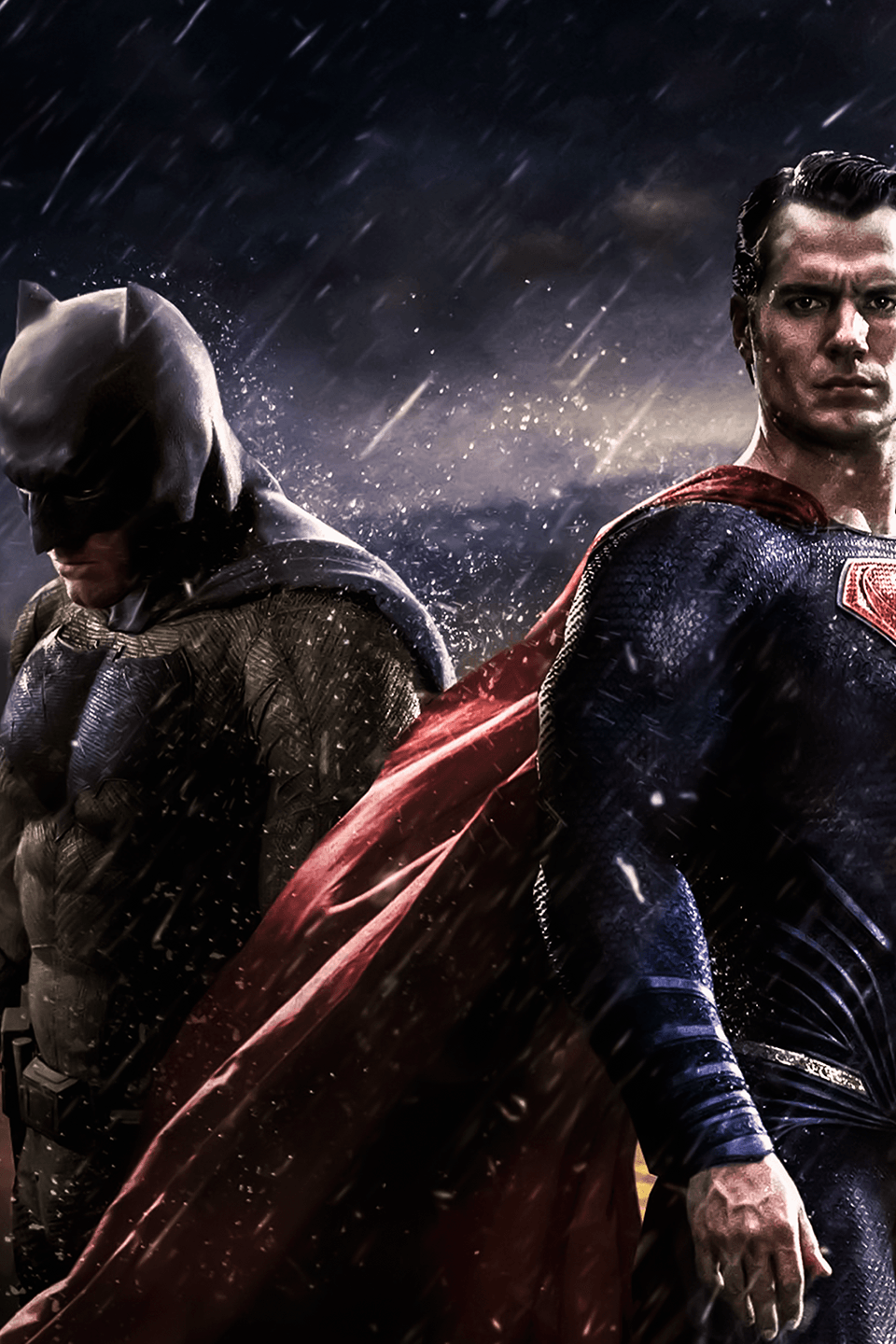Batman vs superman hintergrund