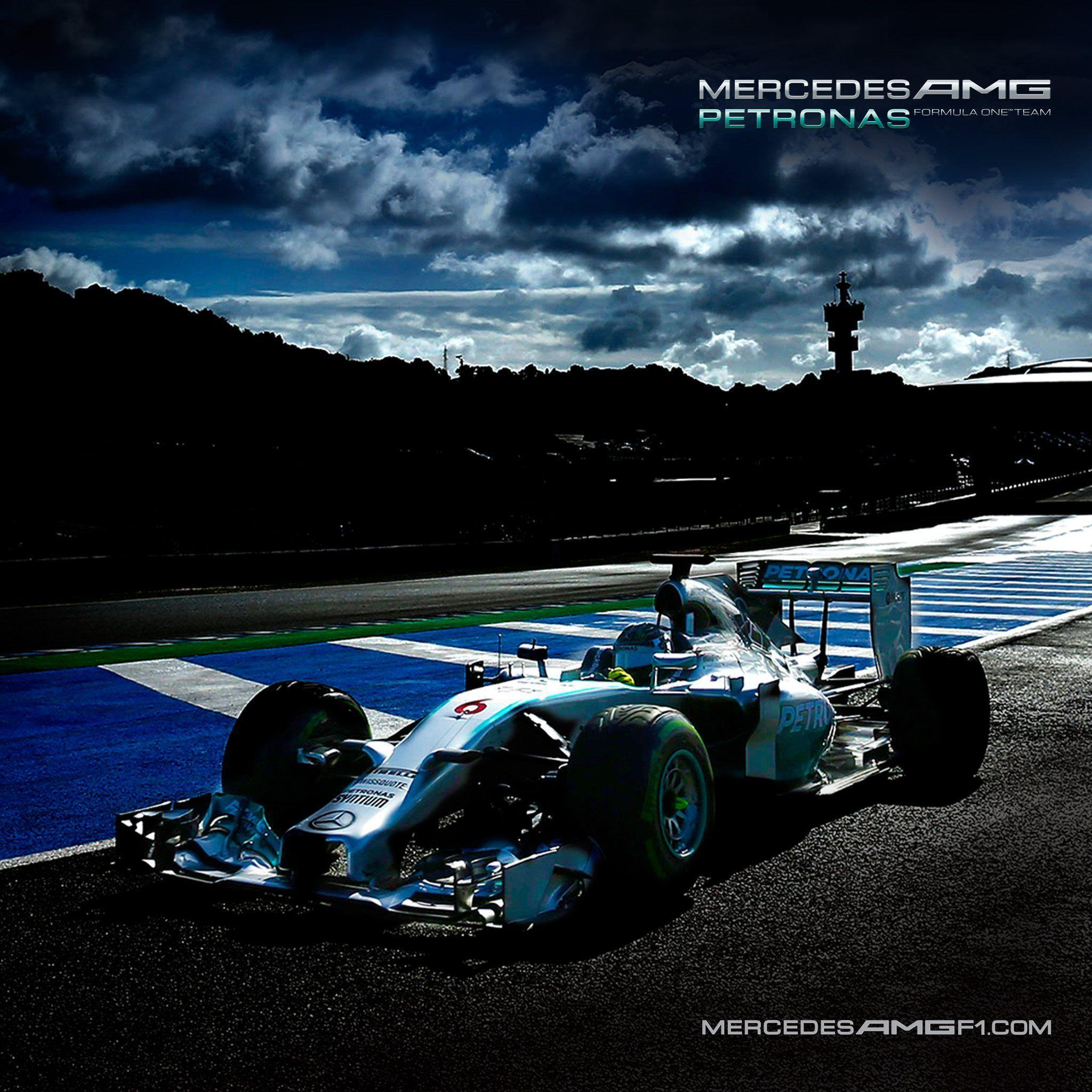 Mercedes Benz Car Wallpaper: Mercedes F1 Wallpapers