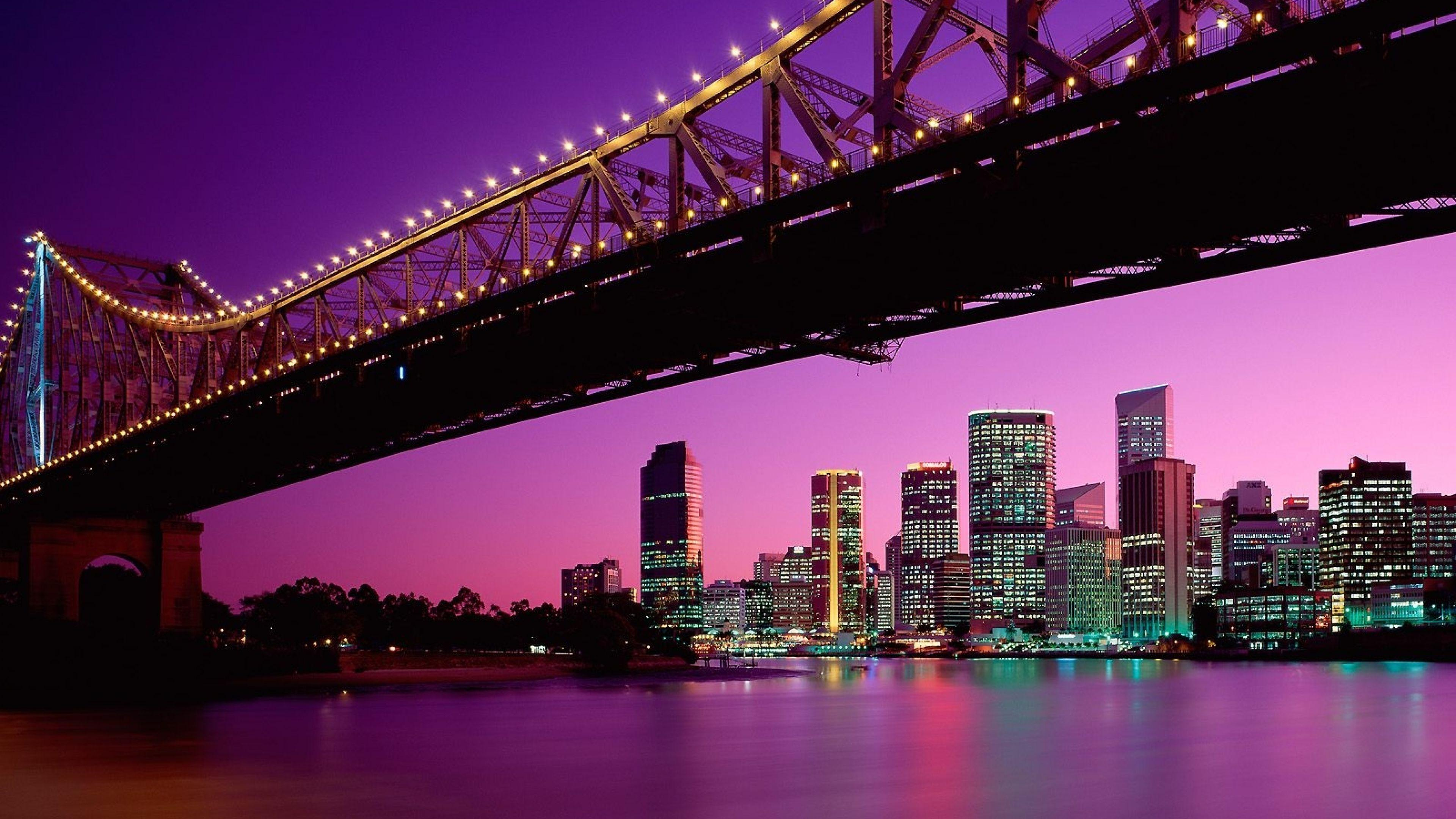 4K Ultra HD Brisbane Wallpapers HD, Desktop Backgrounds 3840x2160 ...