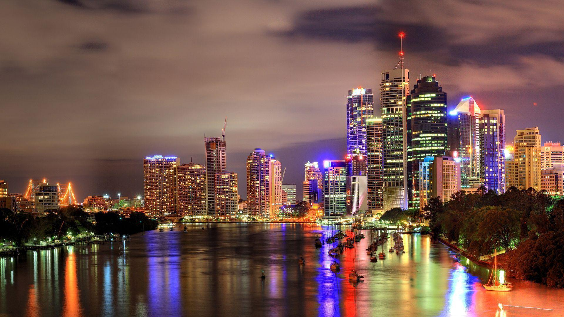 Brisbane HD Wallpaper Free - Download Brisbane HD Wallpaper