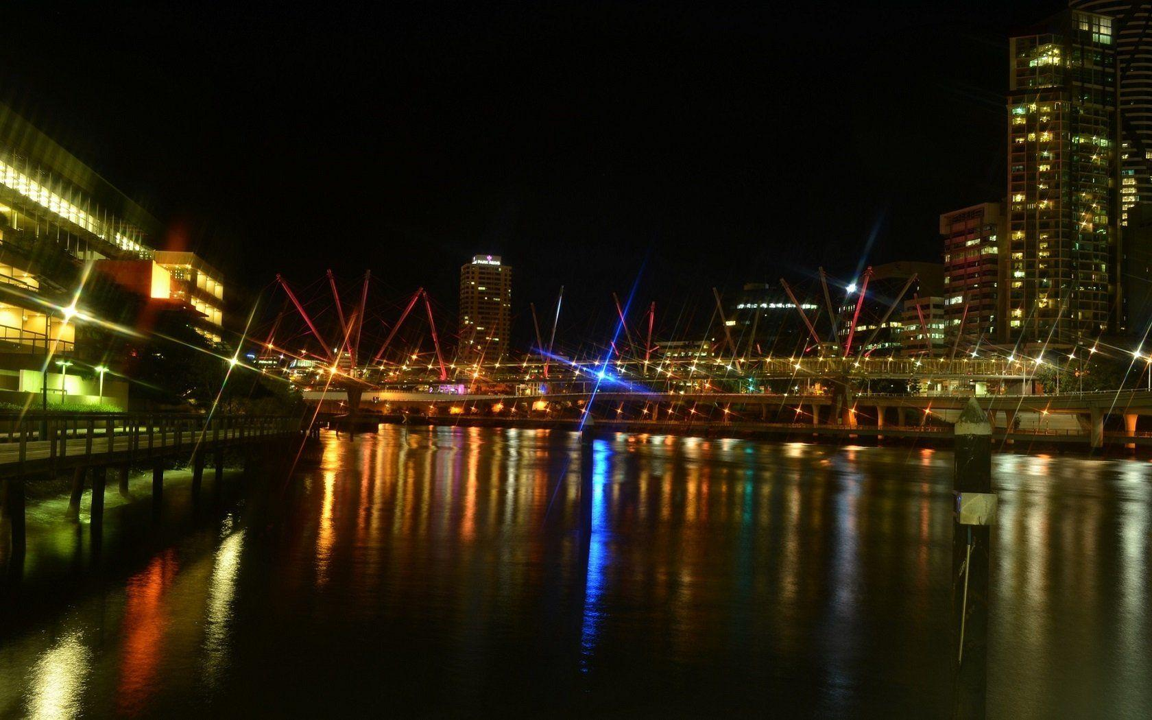 Brisbane City Lights Computer Wallpapers, Desktop Backgrounds ...