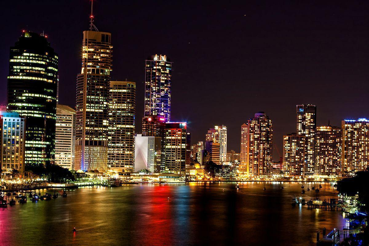 Skyline Brisbane Wallpapers - 1200x800 - 963853