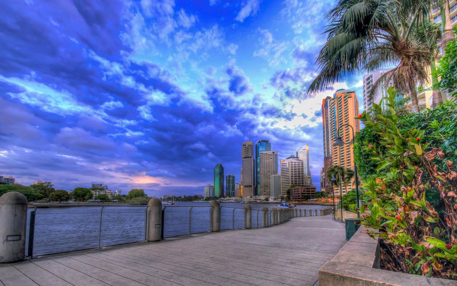 Building in Brisbane HD desktop wallpaper : Widescreen : High ...