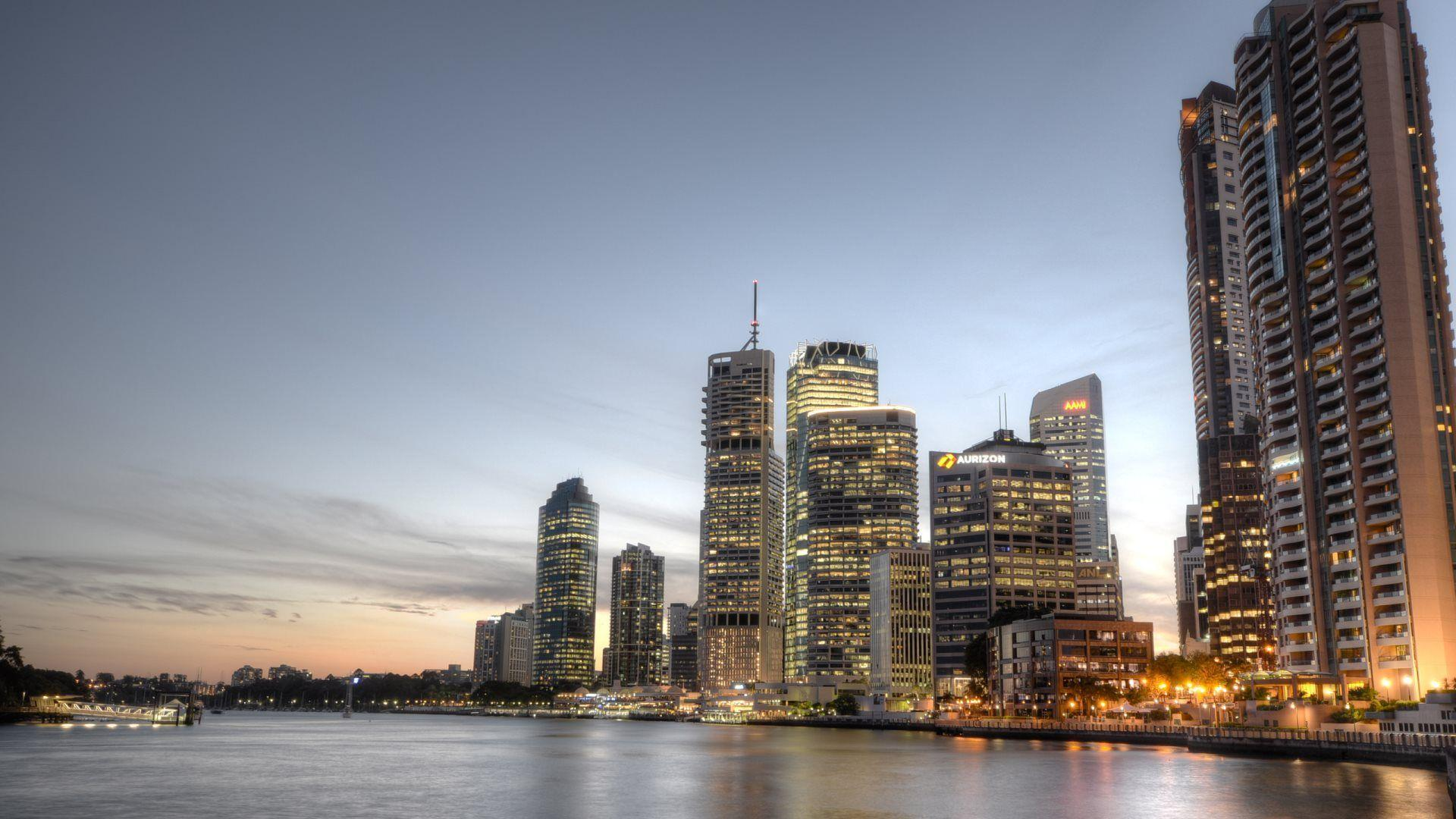 Brisbane Central Business District | HD Wallpapers · 4K