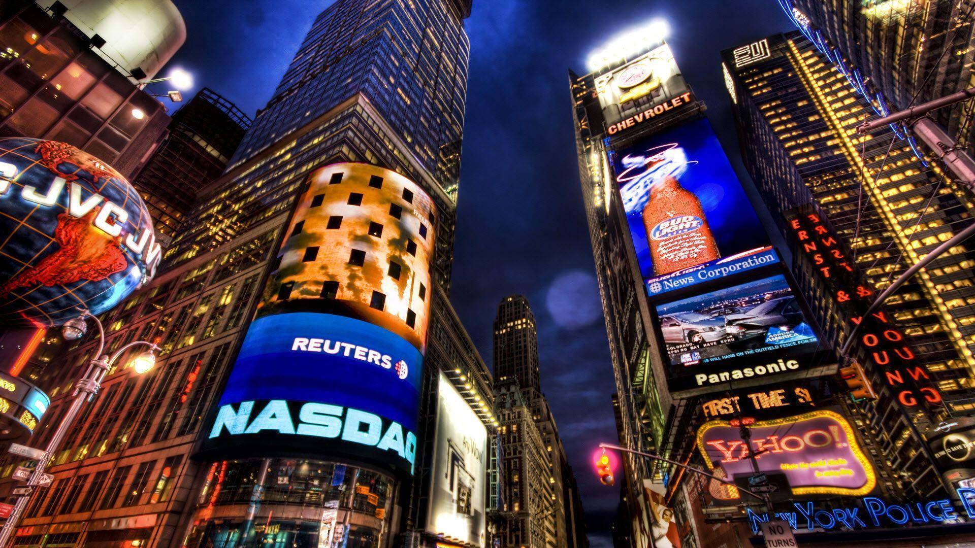 NASDAQ Stock Market New York Wallpapers   HD Wallpapers