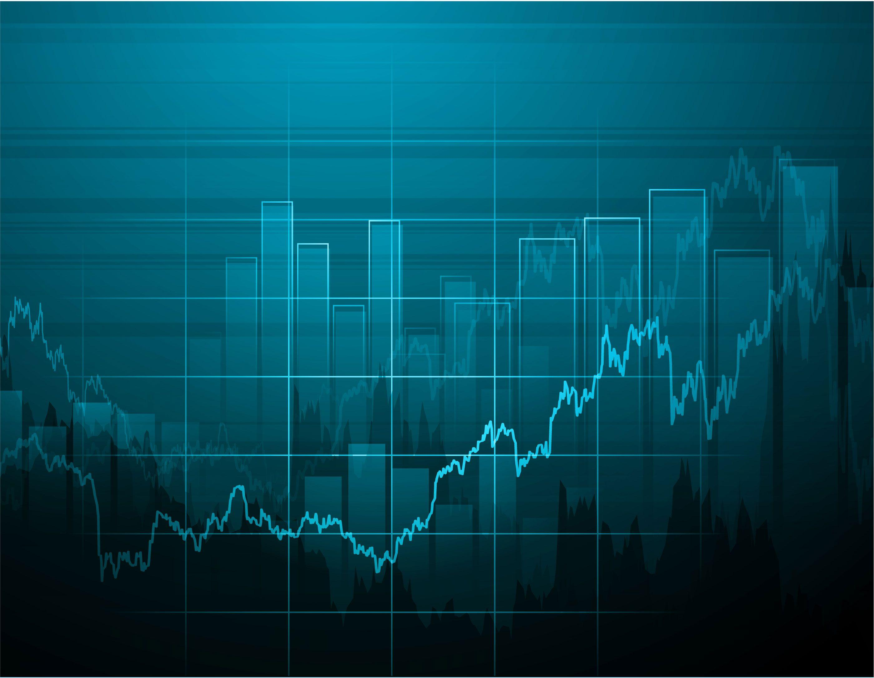 Stock market wallpapers wallpaper cave for Stock market ppt templates free download