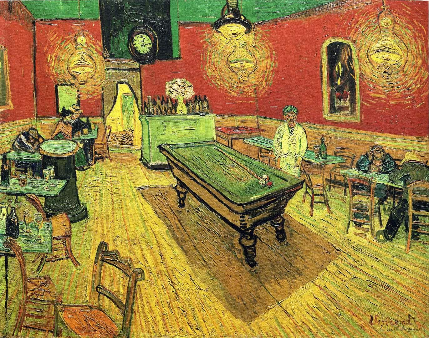 Van Gogh The Night Cafe Wallpapers Wallpaper Cave