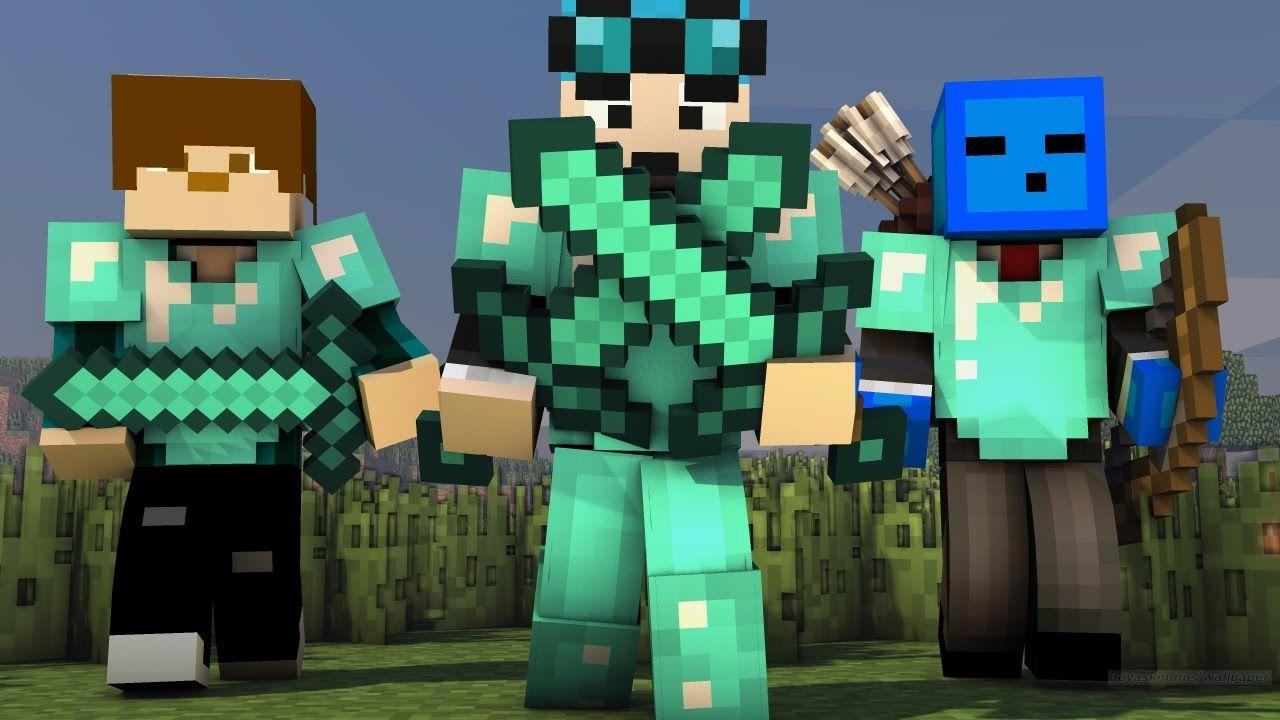 How to put Minecraft Skins on a Wallpapers
