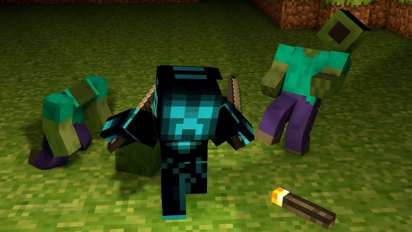 Minecraft Crazy Character