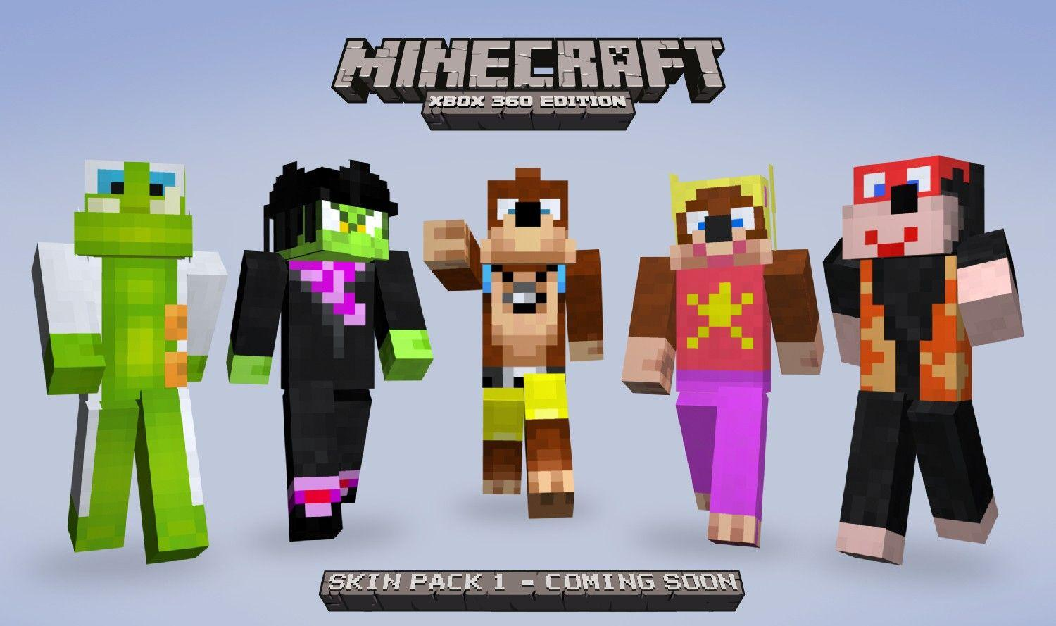 Minecraft Skin Banjo Pack HD Wallpapers of Minecraft