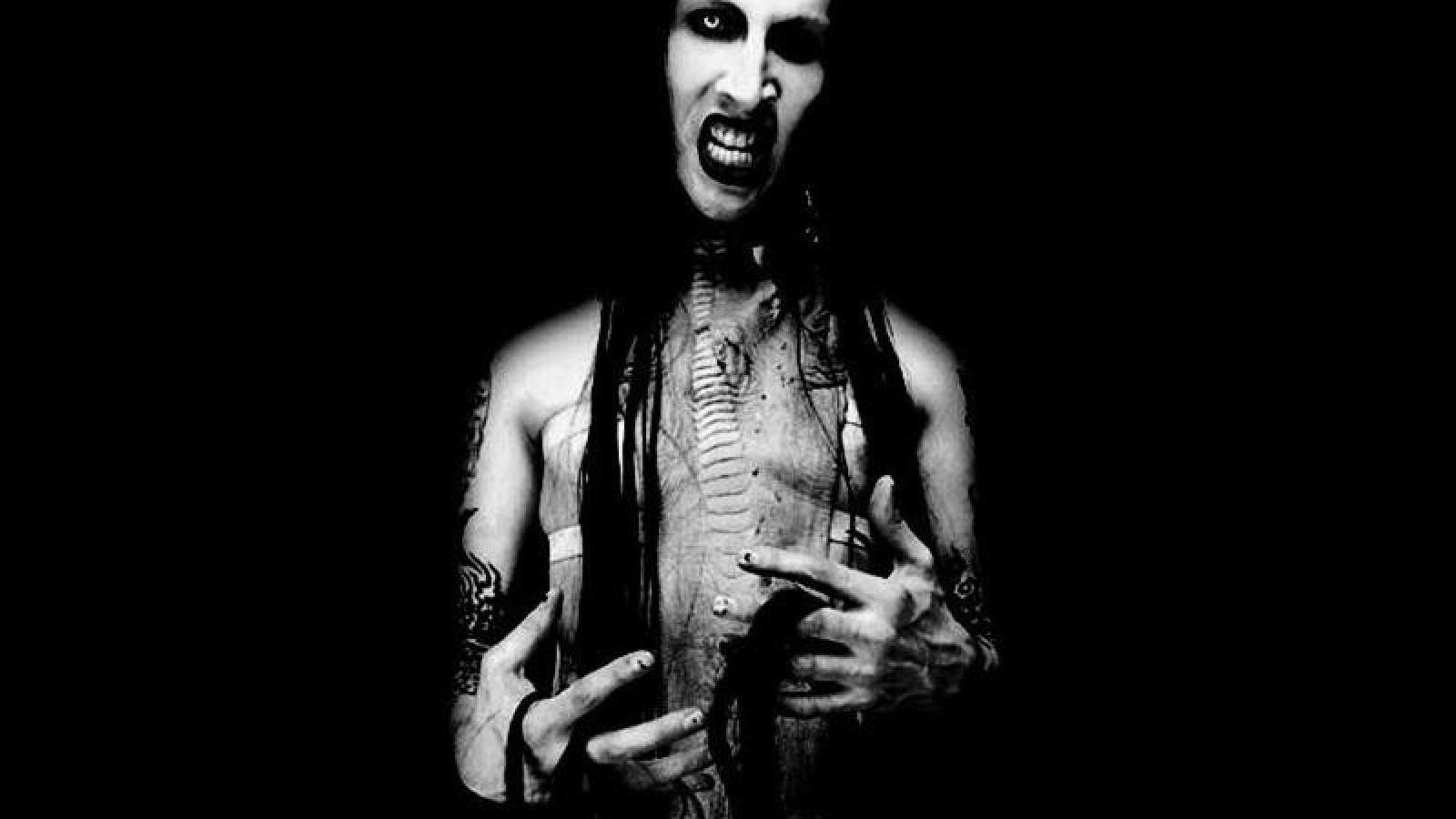 Marilyn Manson 2017 Wallpapers Wallpaper Cave