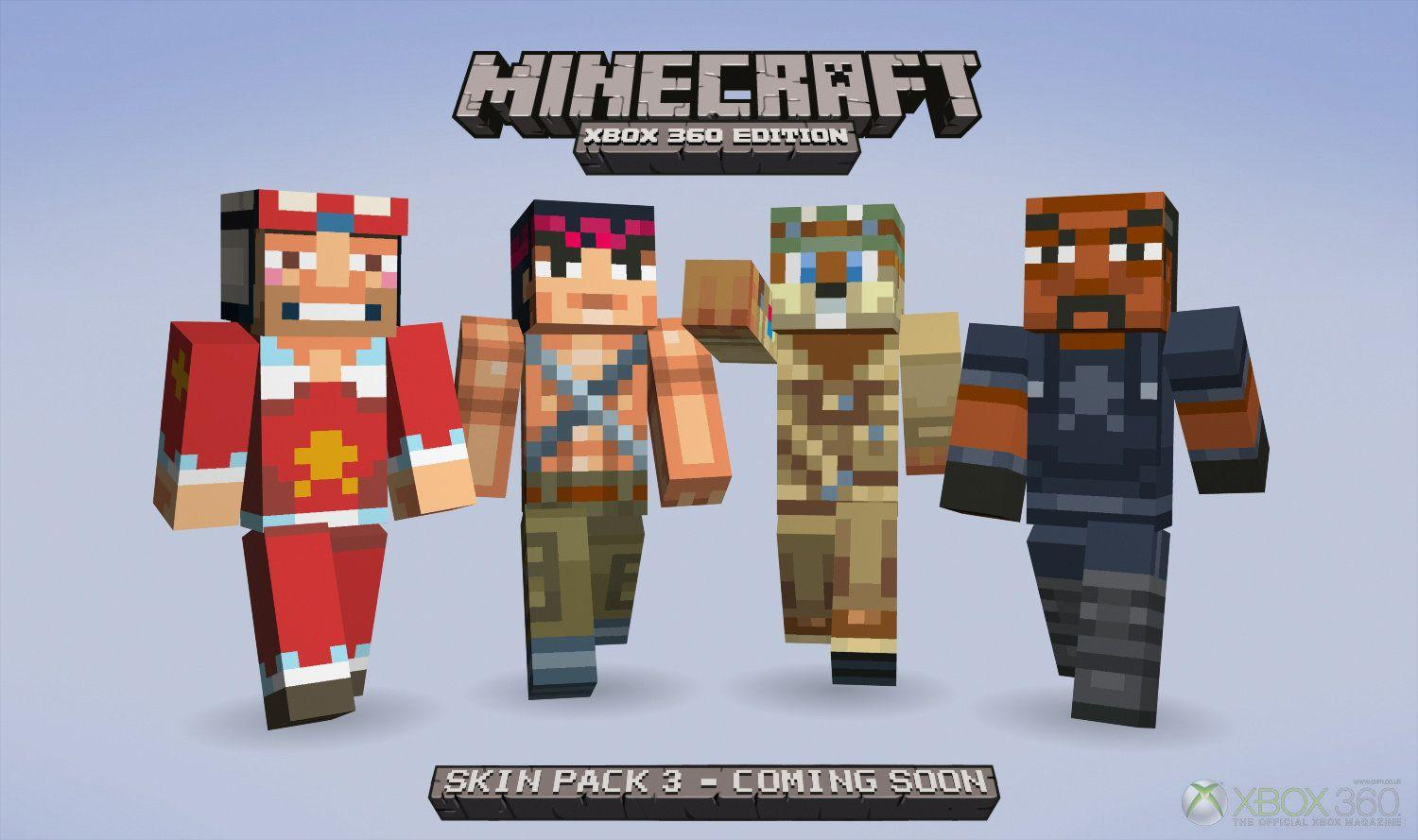 Minecraft Skin XBOX 360 HD Wallpapers of Minecraft