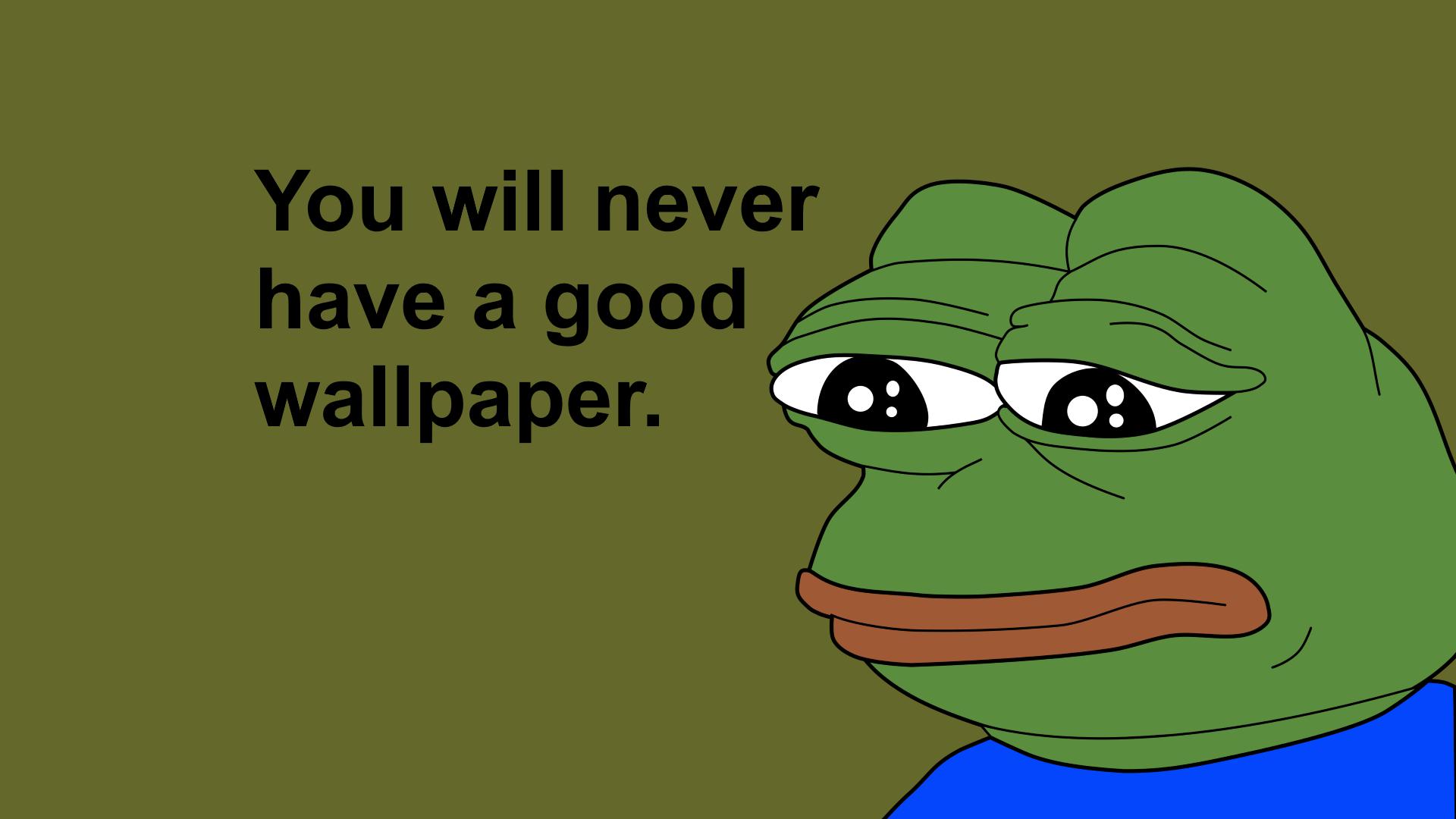 the pepe frog wallpaper - photo #5
