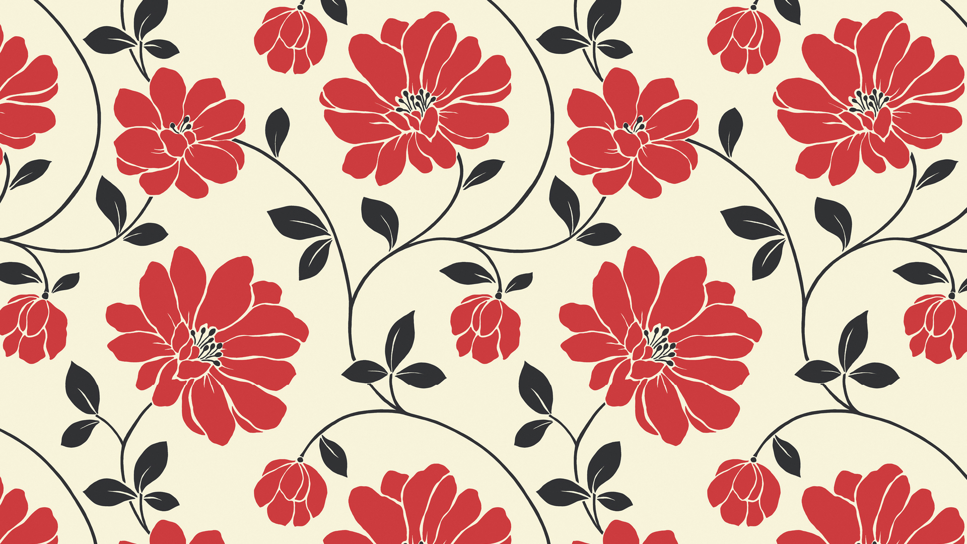 Flower Pattern Wallpaper Interesting Inspiration Ideas
