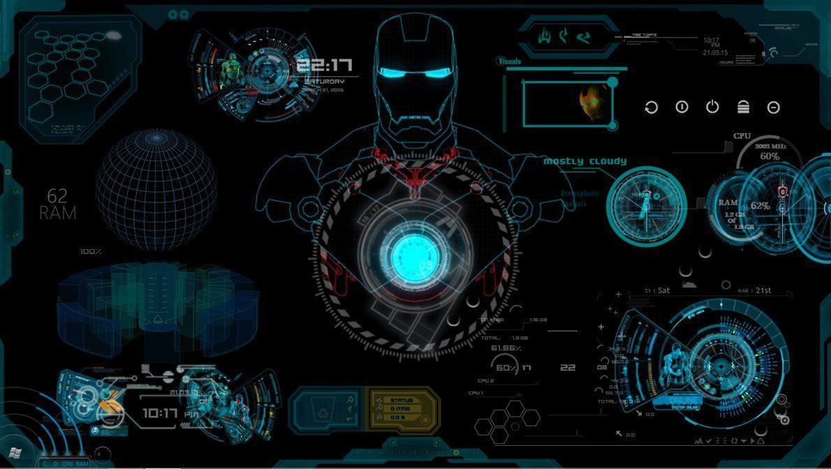 Iron Man Jarvis Wallpapers Wallpaper Cave