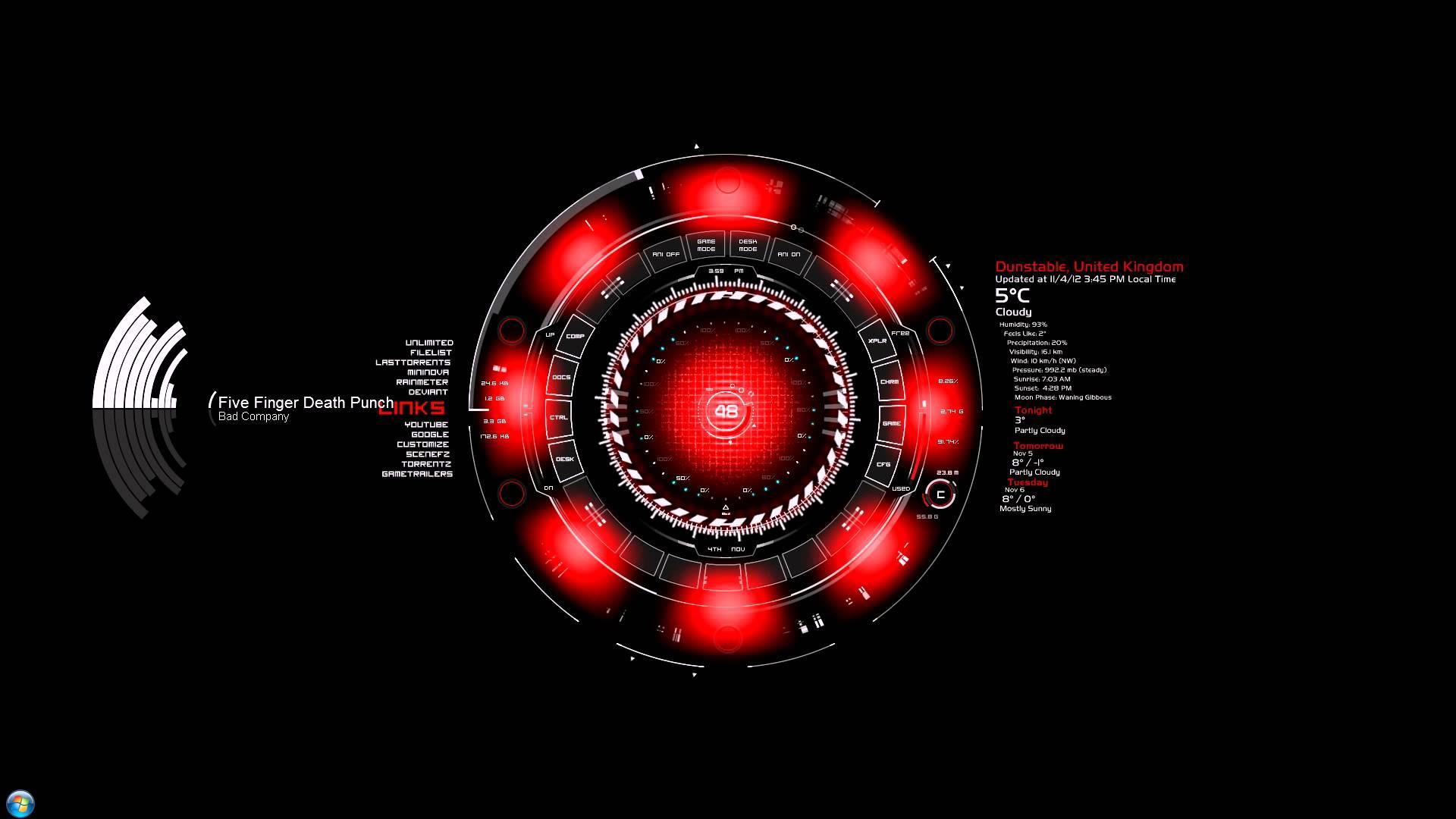 Iron Man Wallpaper 34447: Iron Man JARVIS Wallpapers