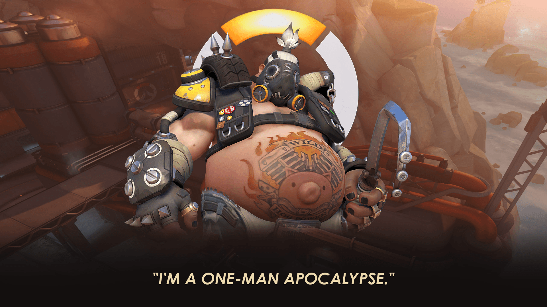 a definition of roadhog These are cognitive relationship words which is to say they have a similar meaning, mean the same thing, or have close definition and relationship to roadhog.