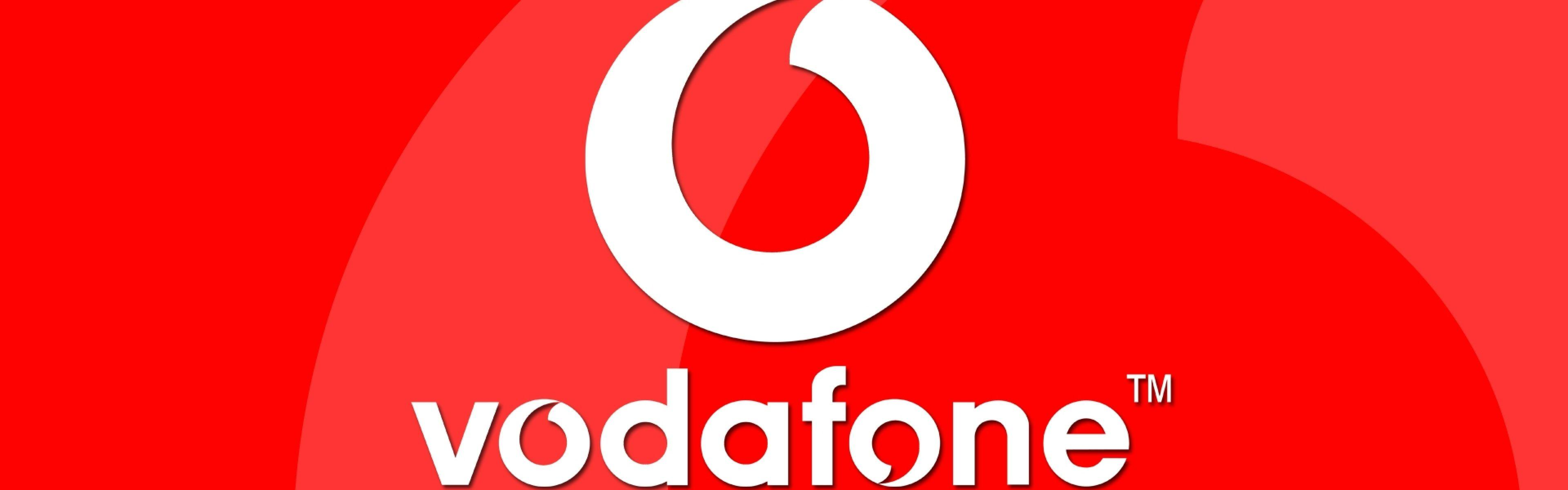 important stocks including vodafone - HD 3840×1200