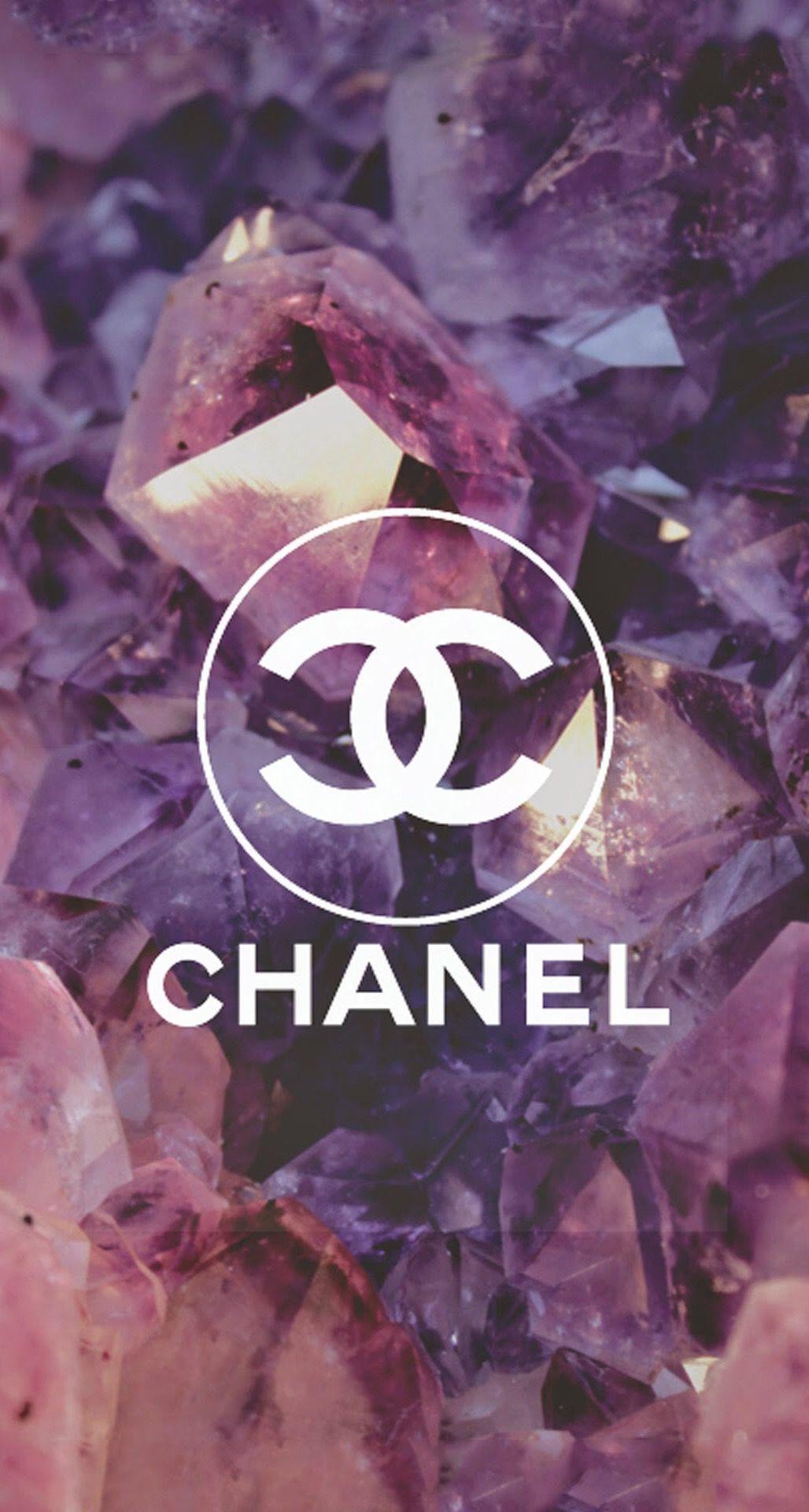 Coco Chanel Logo Diamonds iPhone 6 Plus HD Wallpapers / iPod