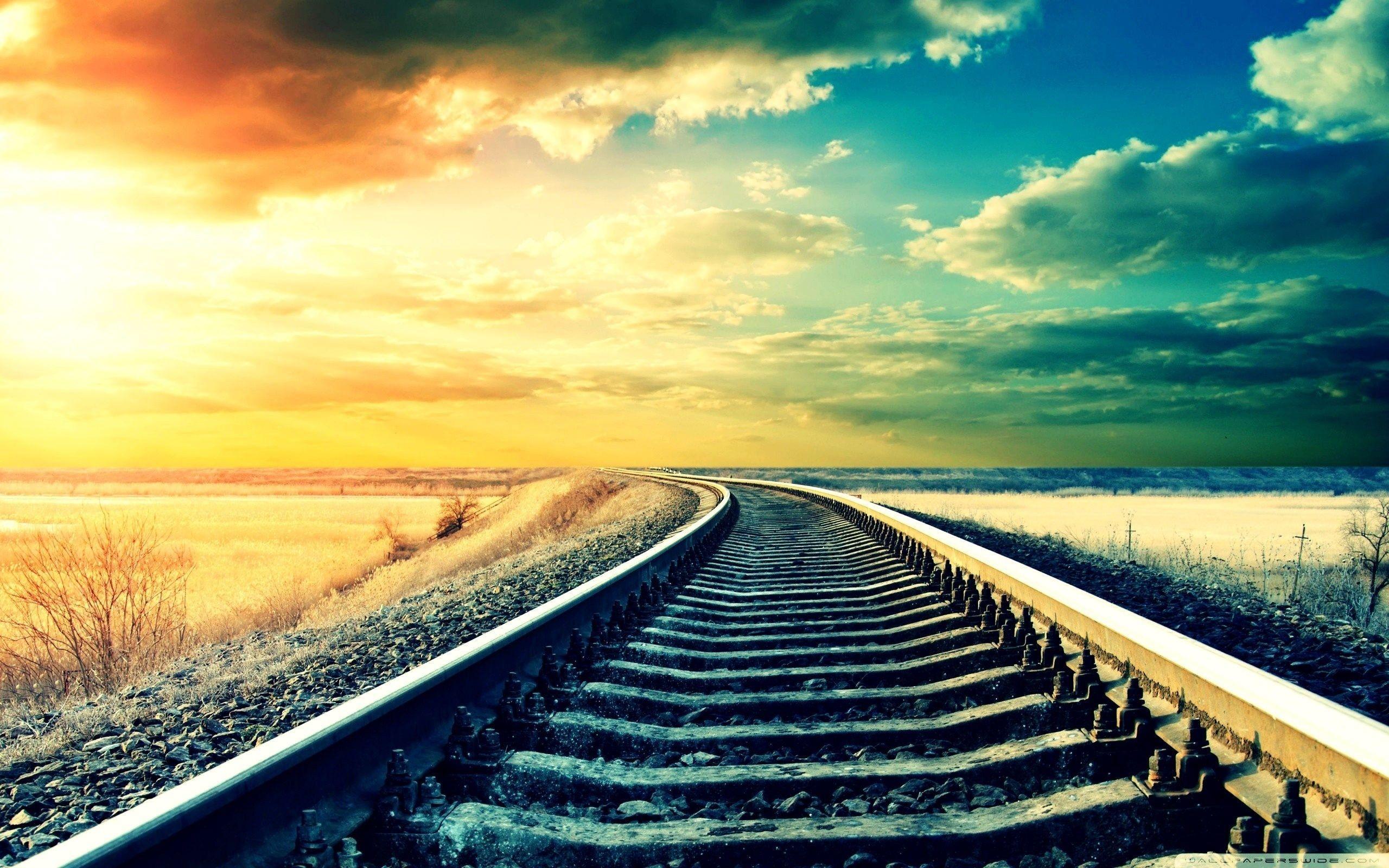Railway Track Wallpapers - Wallpaper Cave