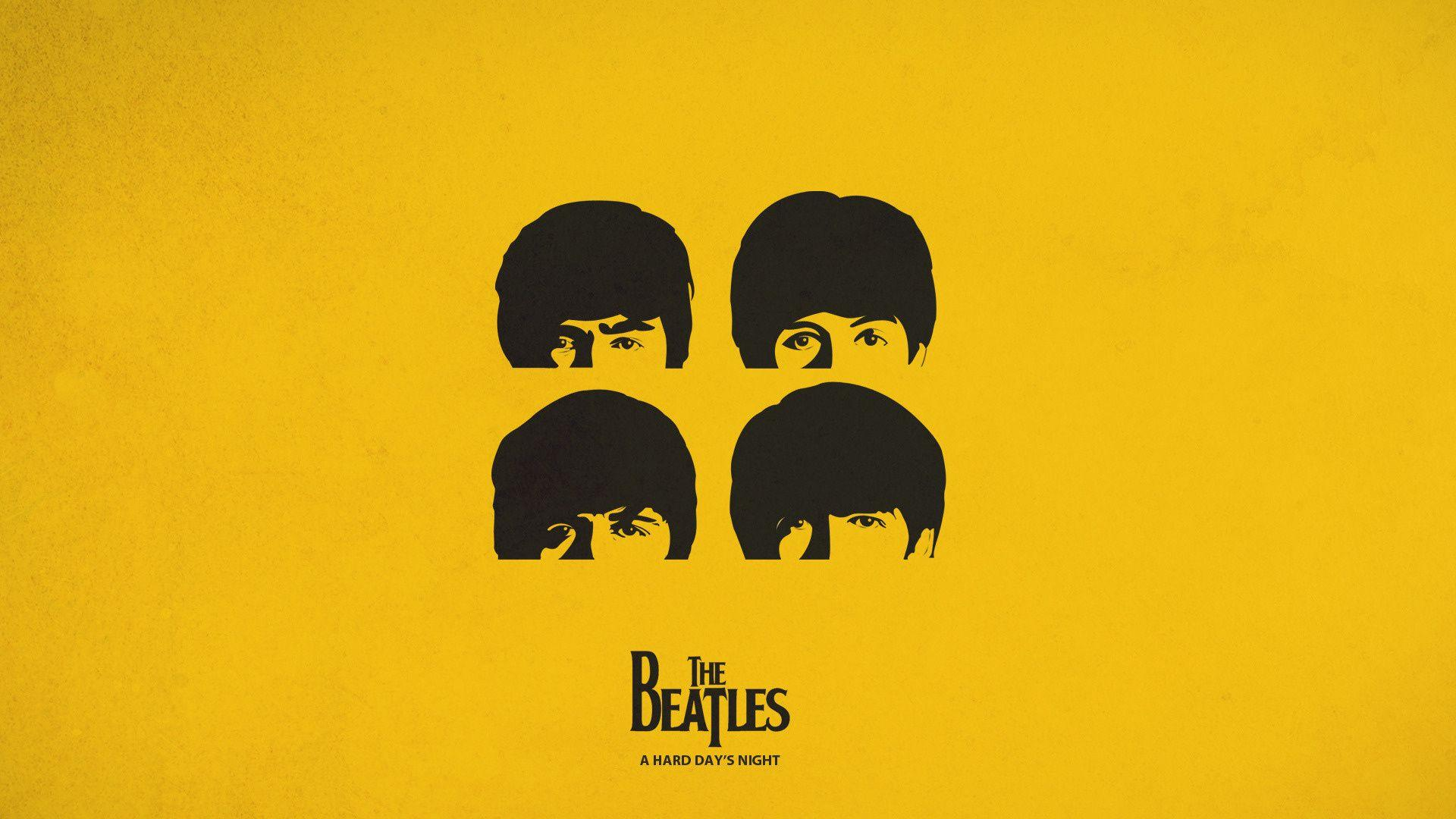 Wallpaper Beatles, simple, graphics, a hard days night, Ringo ...