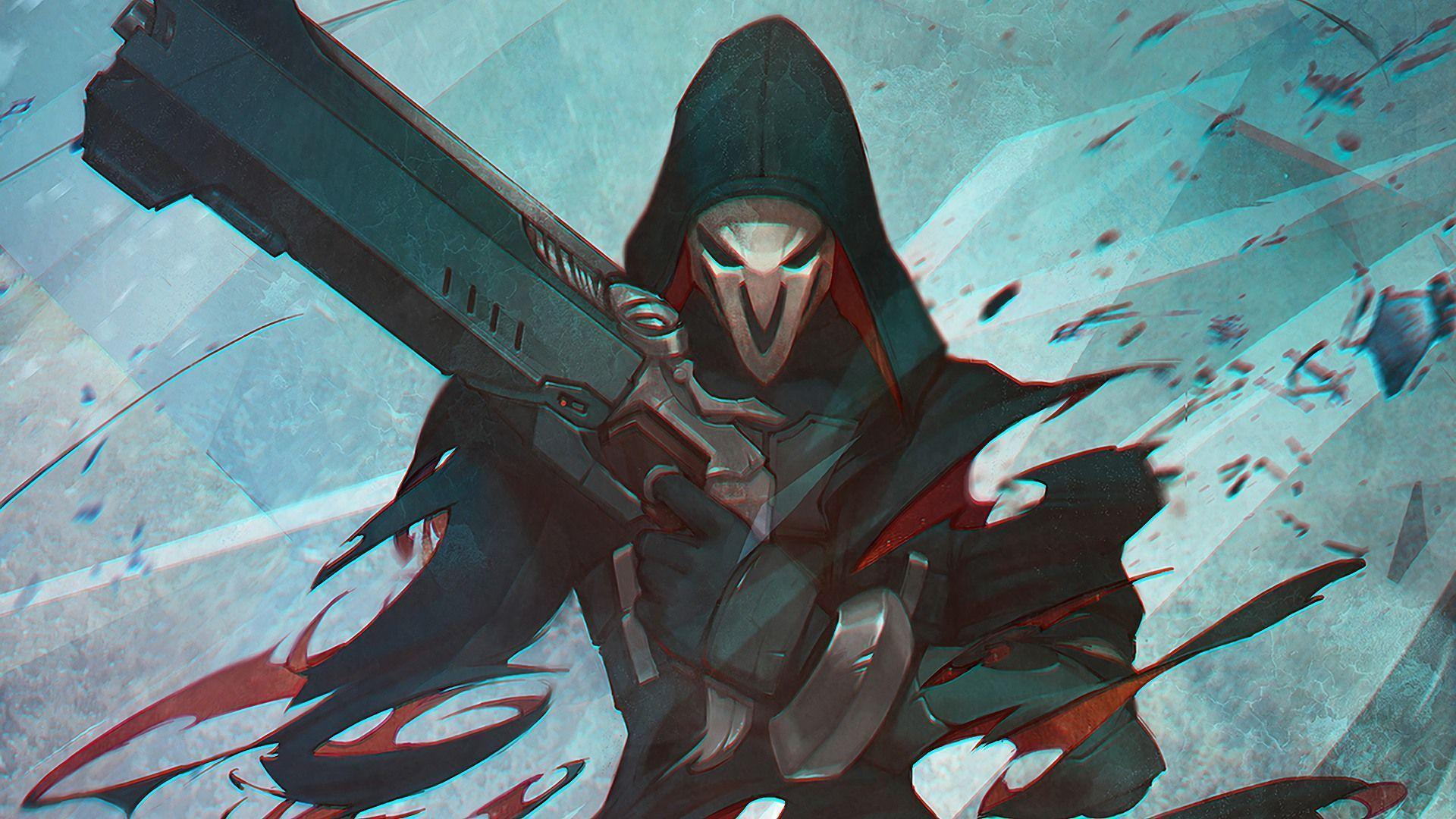 Overwatch Reaper Wallpapers - Wallpaper Cave