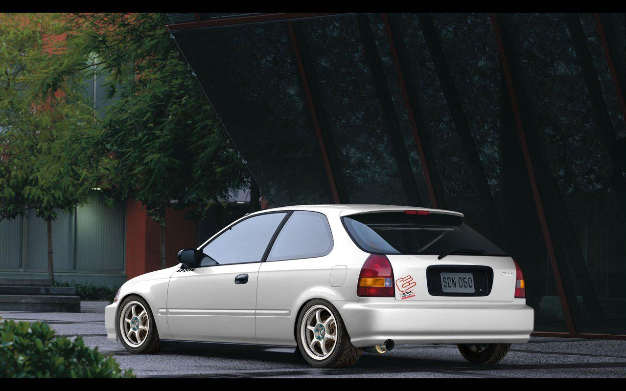 EK9 Honda Civic Wallpapers