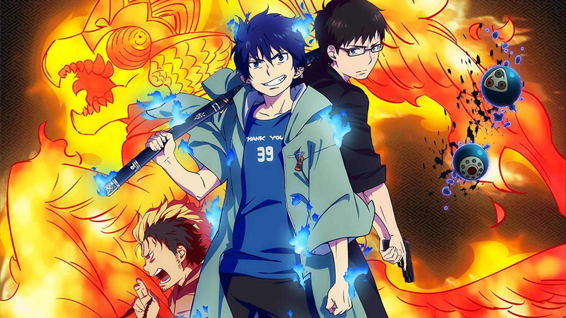Ao no exorcist wallpapers wallpaper cave - Blue exorcist wallpaper ...