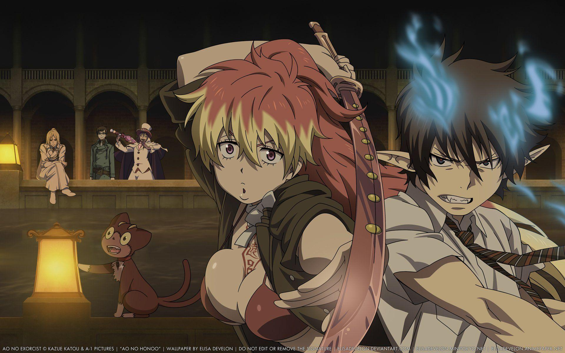 Ao No Exorcist Wallpapers - Wallpaper Cave