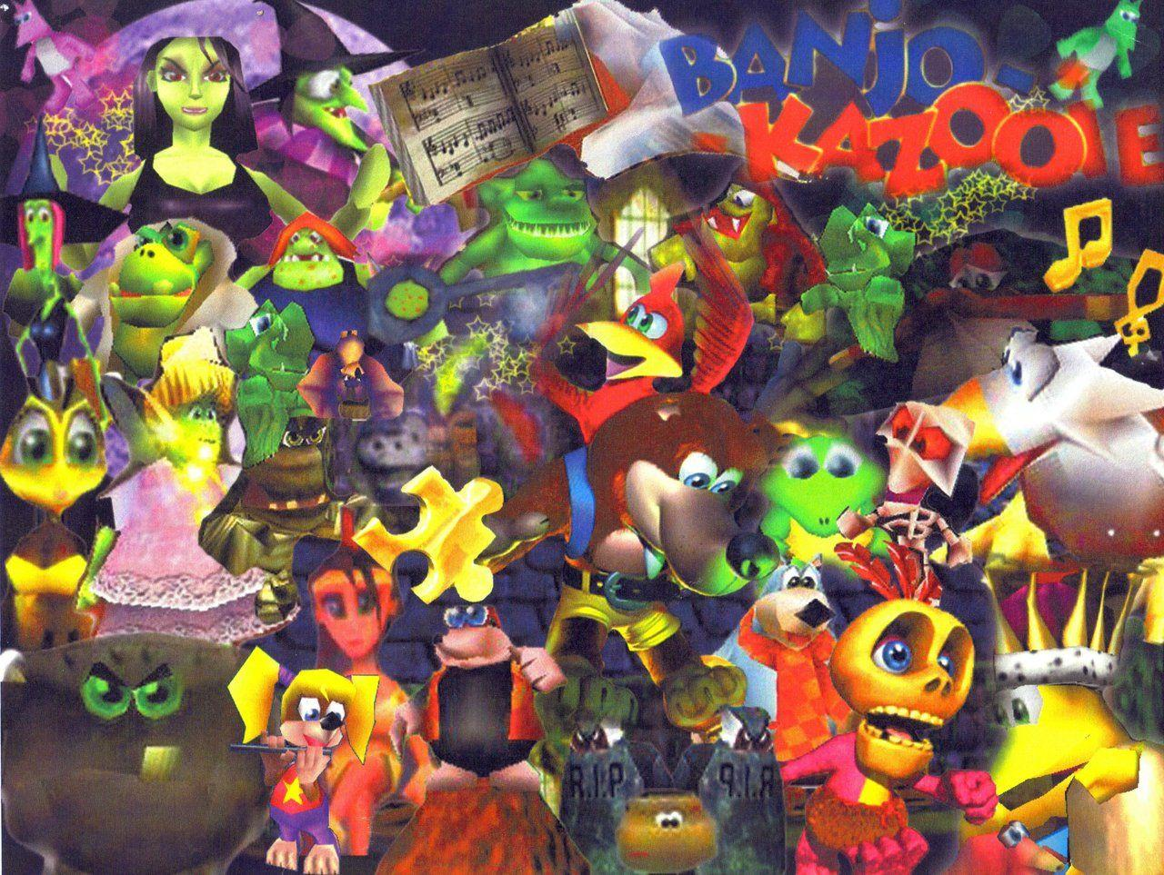 Banjo Kazooie Tooie Wallpapers HD + Nuts And Bolts + Nintendo 64