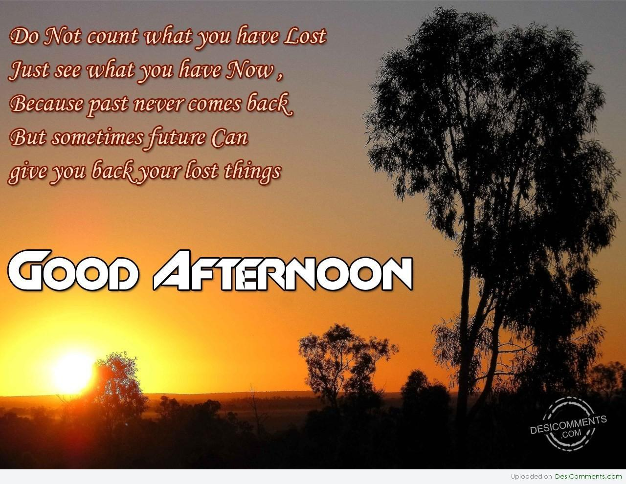 Good Afternoon Pictures Images Graphics For Facebook Whatsapp Download