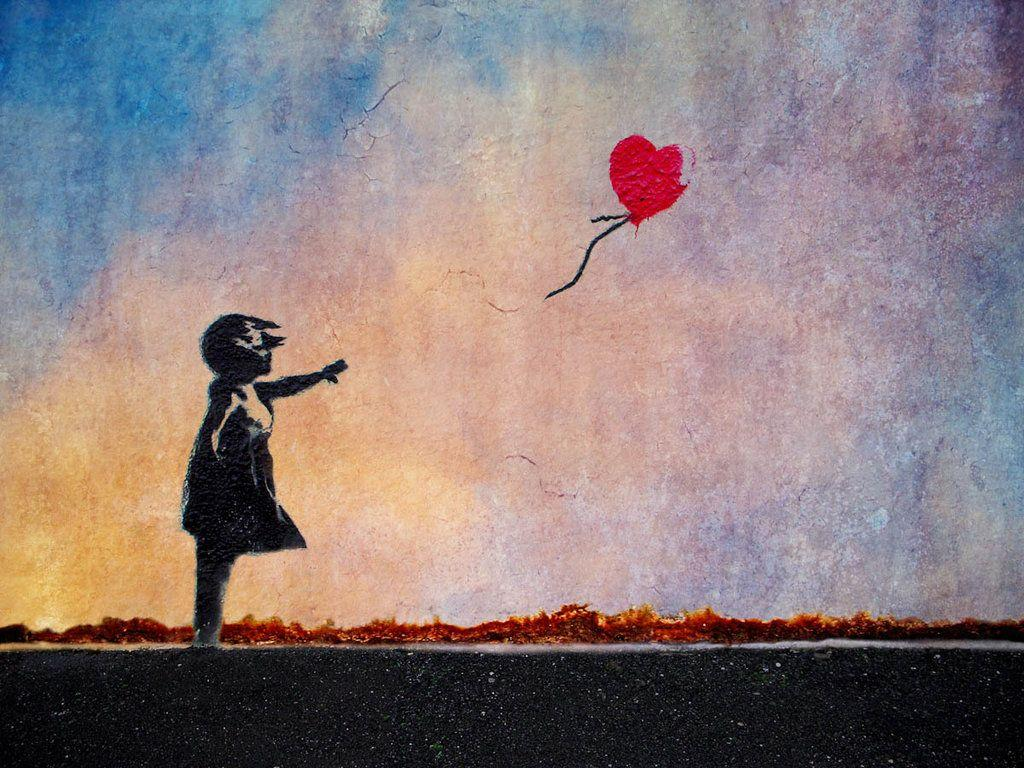 The Girl With The Red Balloon Wallpapers Wallpaper Cave