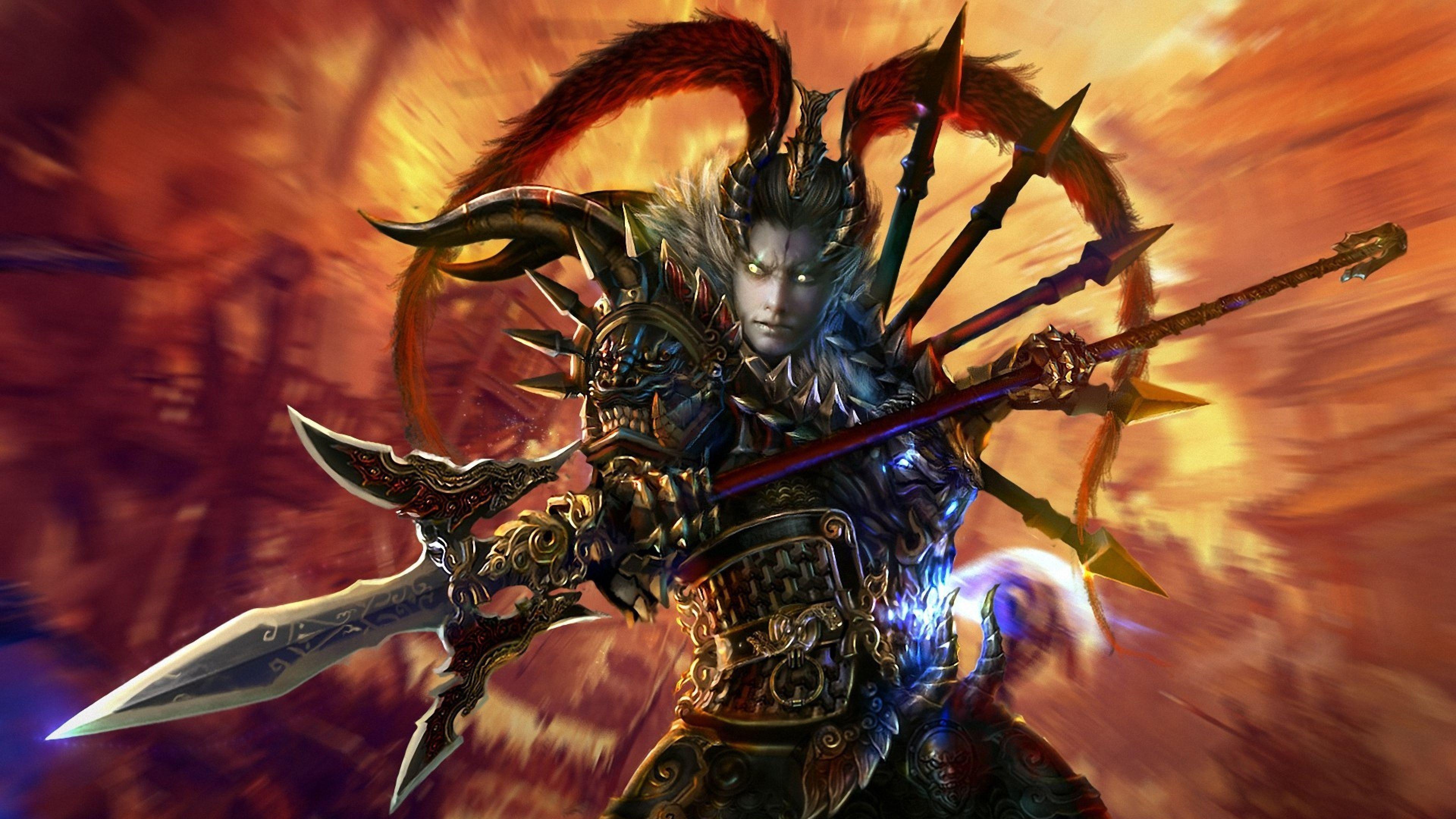 dynasty warriors 8 wallpapers hd lu bu wallpaper cave
