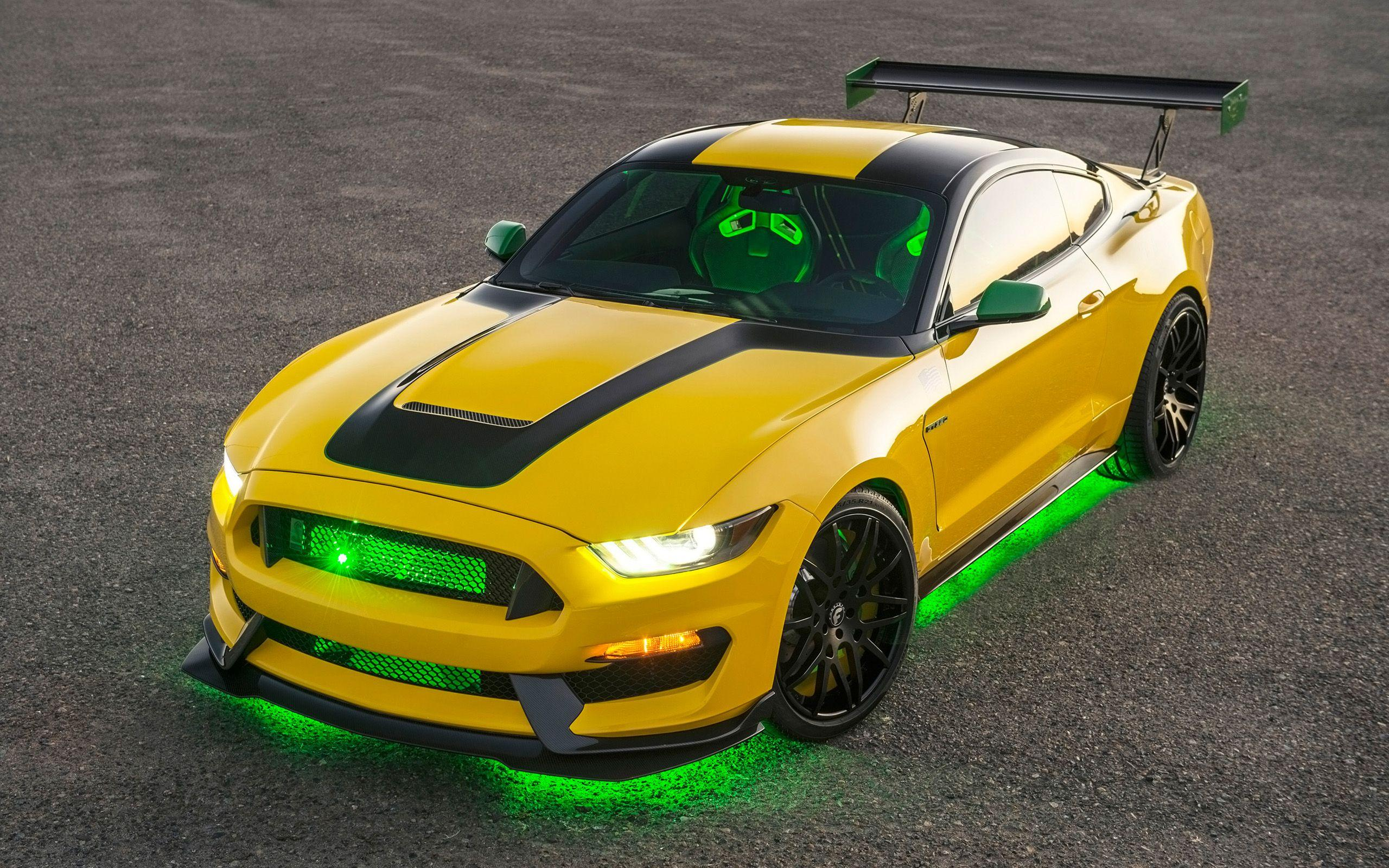 2016 Ford Shelby GT350 Mustang Ole Yeller Wallpapers