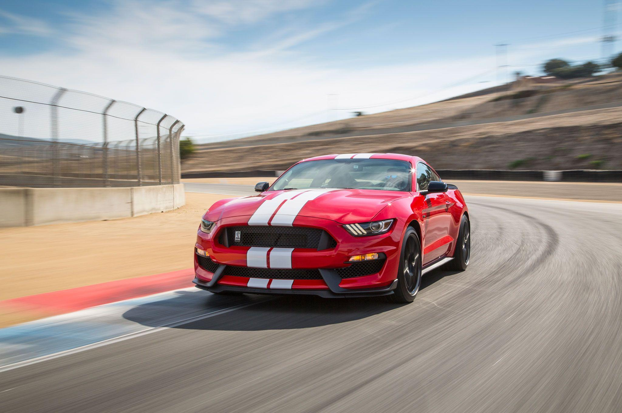 Hear the Shelby GT350's Flat