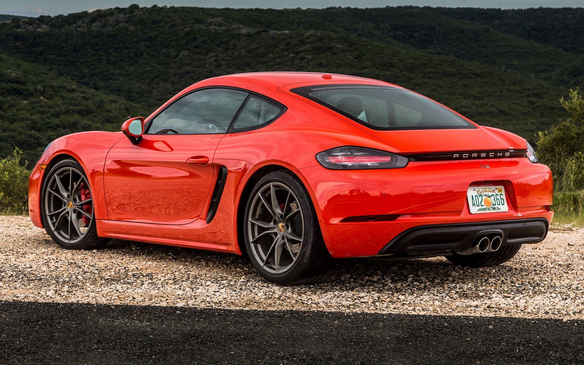 Porsche 718 Cayman Wallpapers Wallpaper Cave