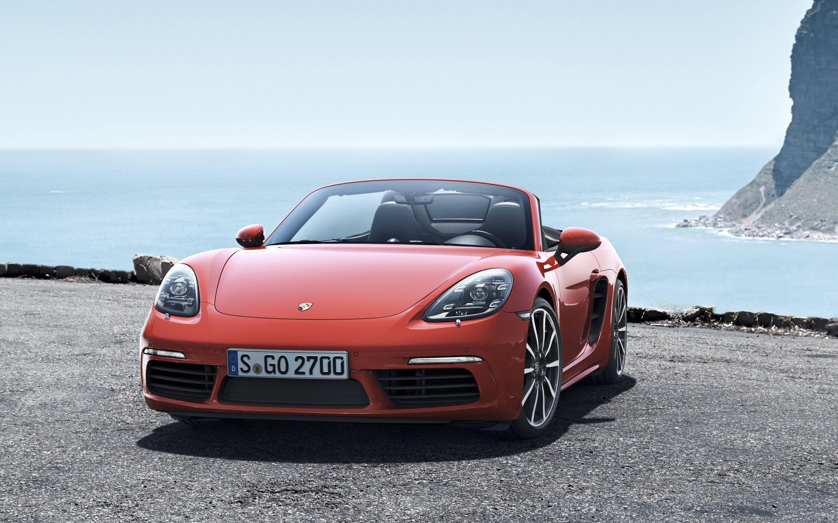Porsche 718 Boxster Wallpapers Wallpaper Cave